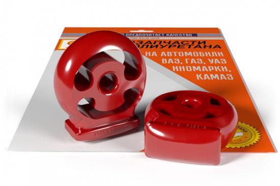 подвеска глушителя ВАЗ 2121