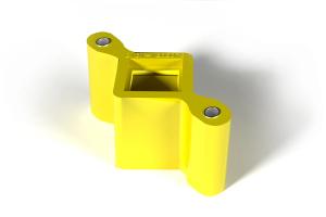 Подушка глушителя (ромбик) ВАЗ 2101-1203072 желтая