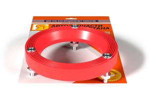 Проставка опоры стойки ВАЗ 2108-2115 кольцо со шпильками и гайками